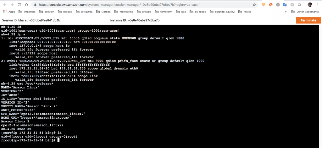 AWS SSM for Shell Access to EC2 – Bastion free & SSH Key